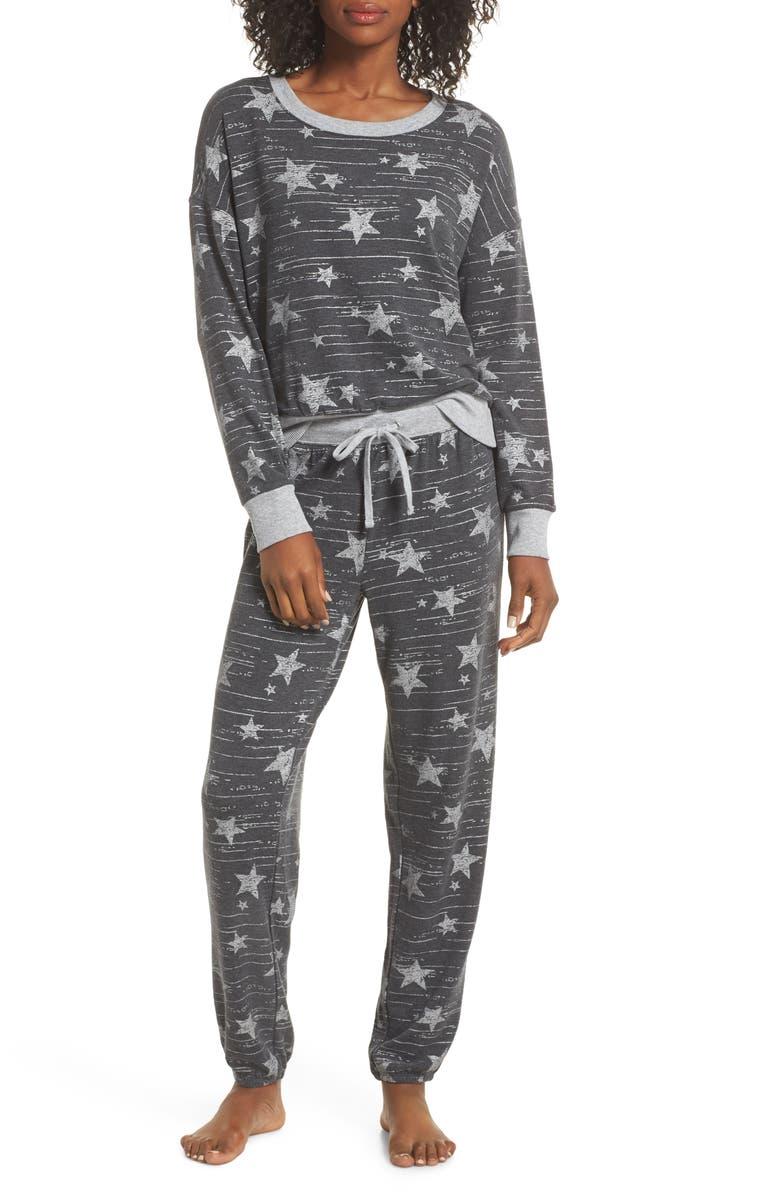 SPLENDID Long Sleeve Pajamas, Main, color, 007