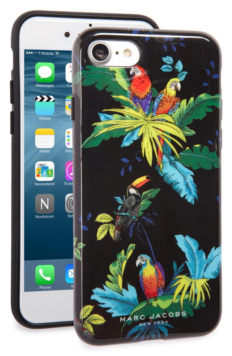MARC JACOBS Parrot iPhone 7 Case | Nordstrom