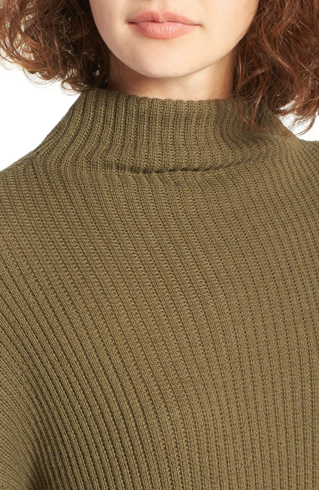 ,                             Mock Neck Sweater,                             Alternate thumbnail 19, color,                             311