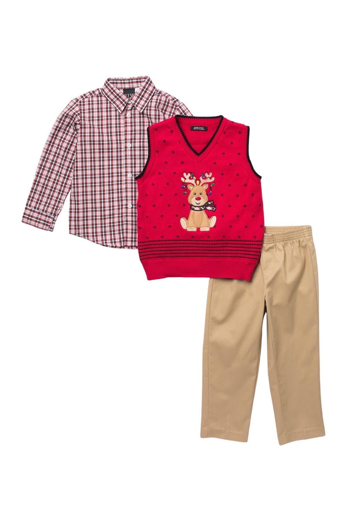 Image of TFW Deer Vest, Top & Pants Set