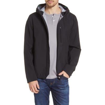 Save The Duck Waterproof Hooded Jacket, Black