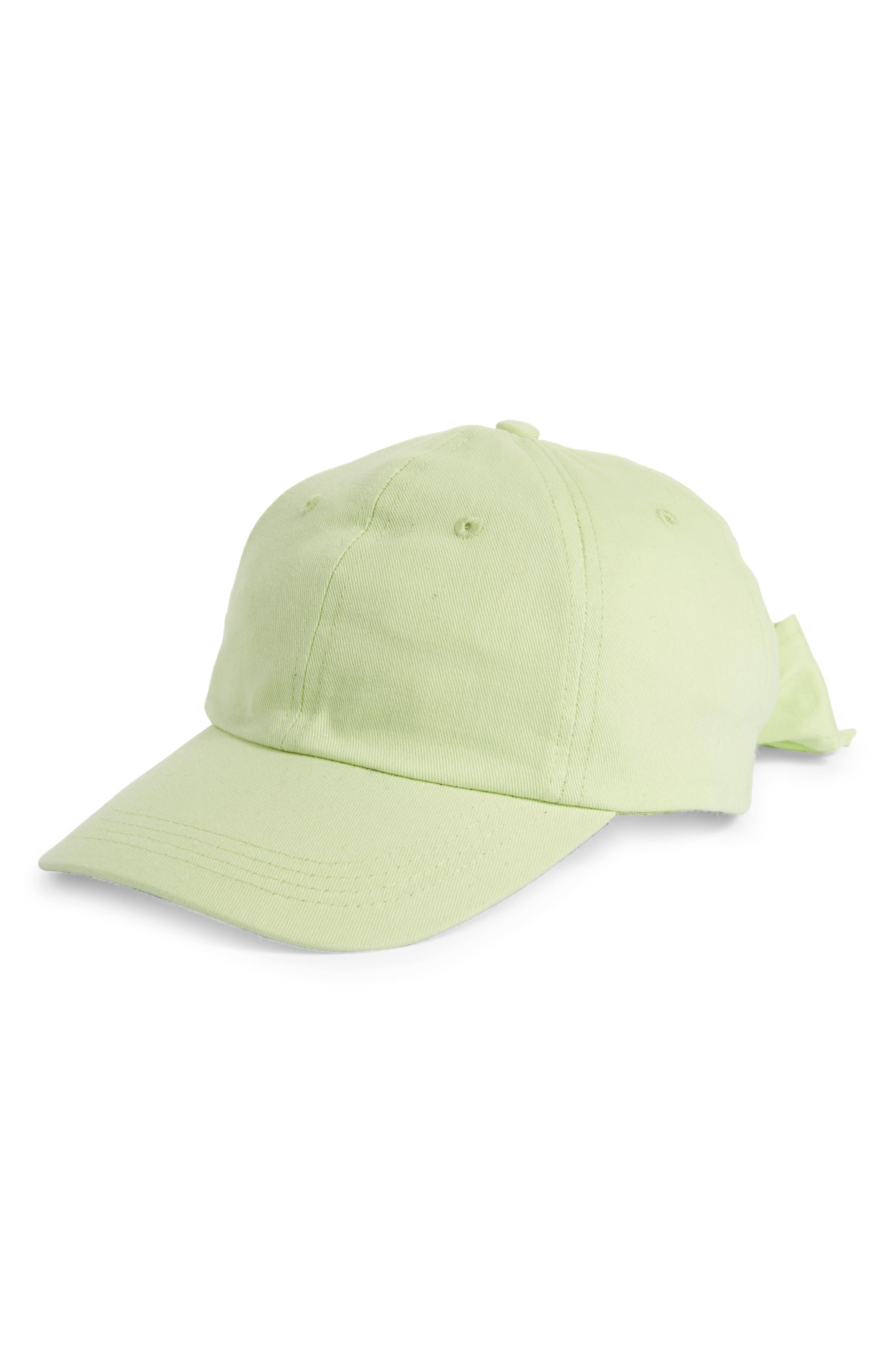 Bp. SOLID BOW CAP
