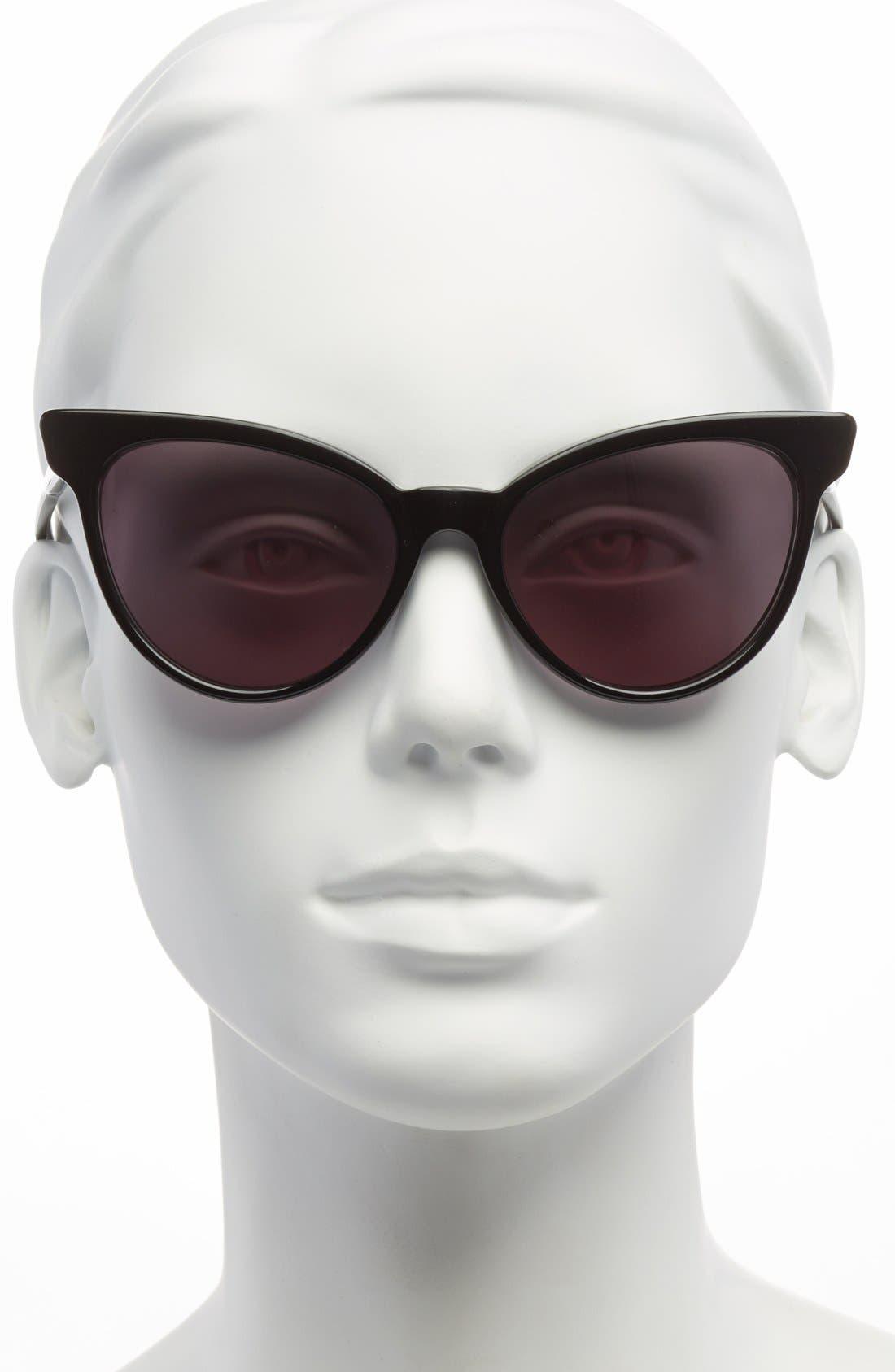 ,                             'La Femme' 55mm Sunglasses,                             Alternate thumbnail 8, color,                             003