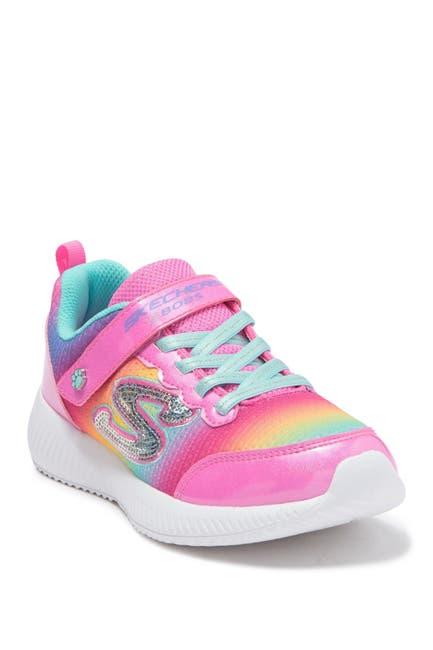 Image of Skechers Lil BOBS Sport Squad Spunky Steps Sneaker