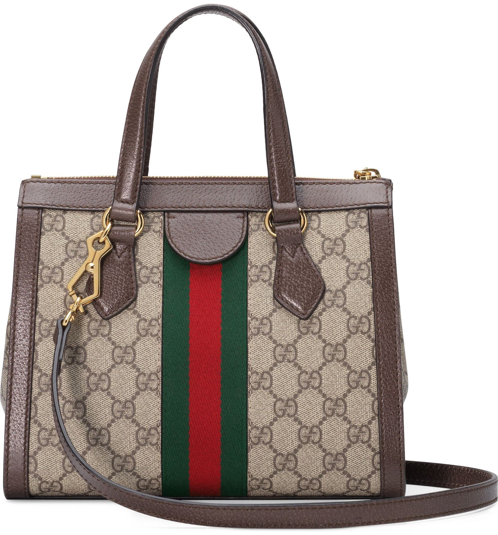 c1650769d Gucci Small Ophidia GG Supreme Canvas Satchel | Nordstrom