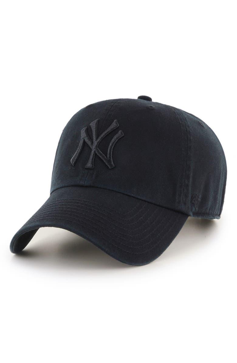 '47 Clean Up NY Yankees Baseball Cap, Main, color, 001
