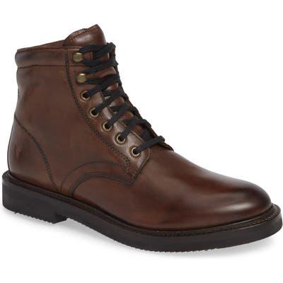 Frye Gordon Plain Toe Boot- Brown