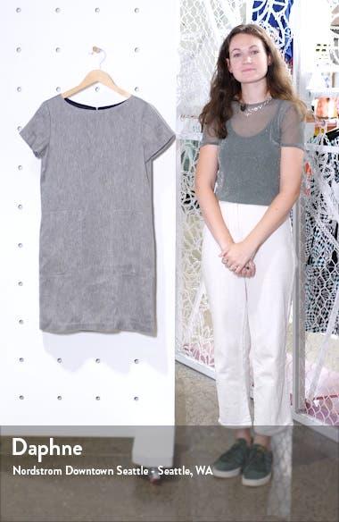 Linen Blend Shift Dress, sales video thumbnail