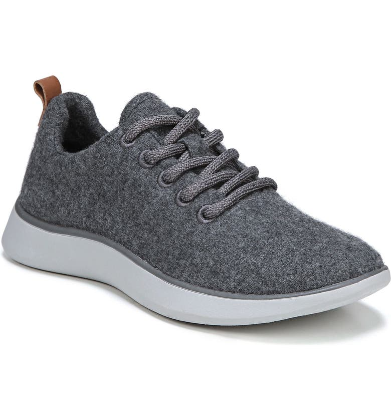 DR. SCHOLL'S Freestep Sneaker, Main, color, DARK GREY FABRIC