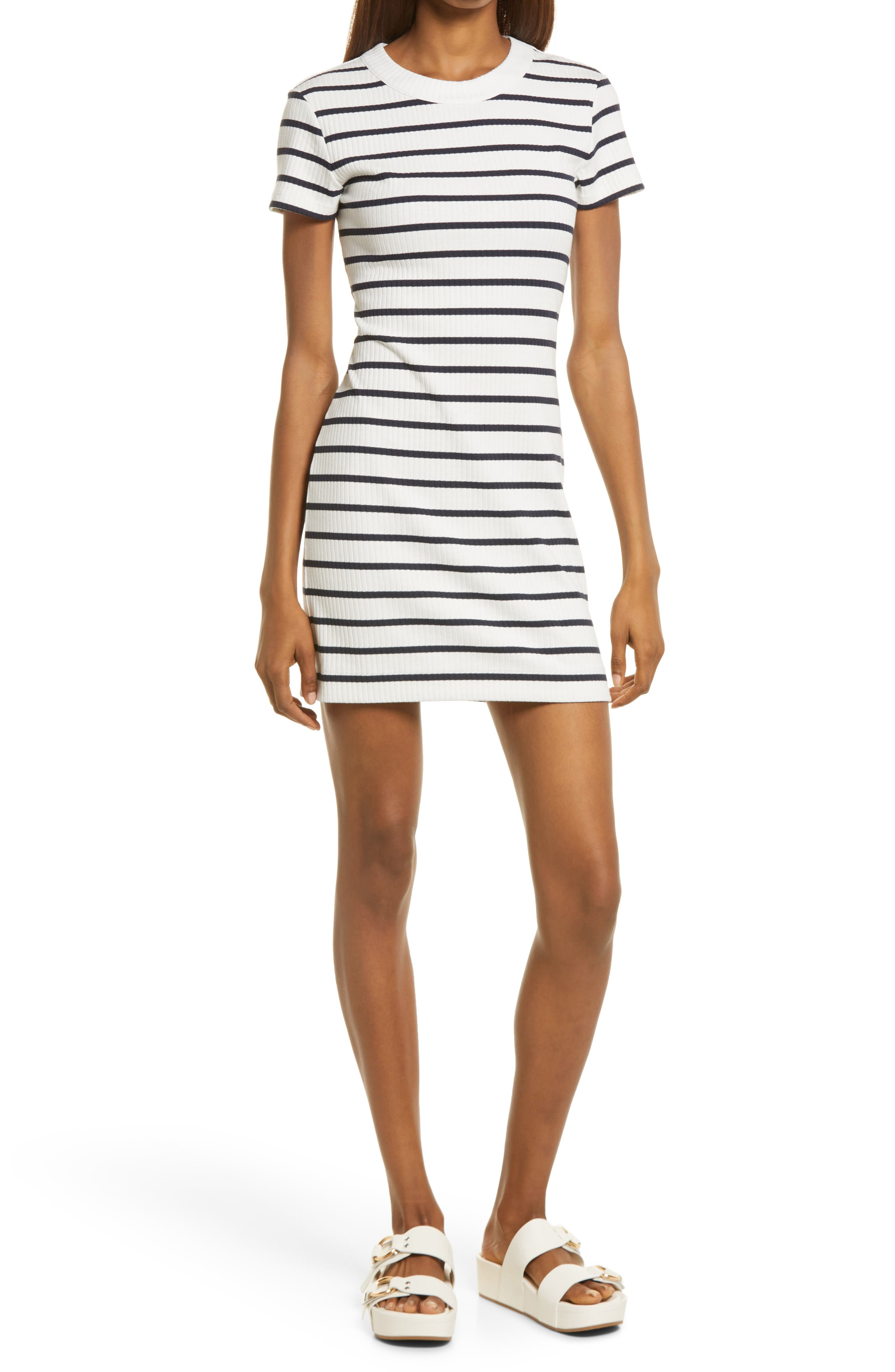 Tommy Ribbed T-Shirt Dress