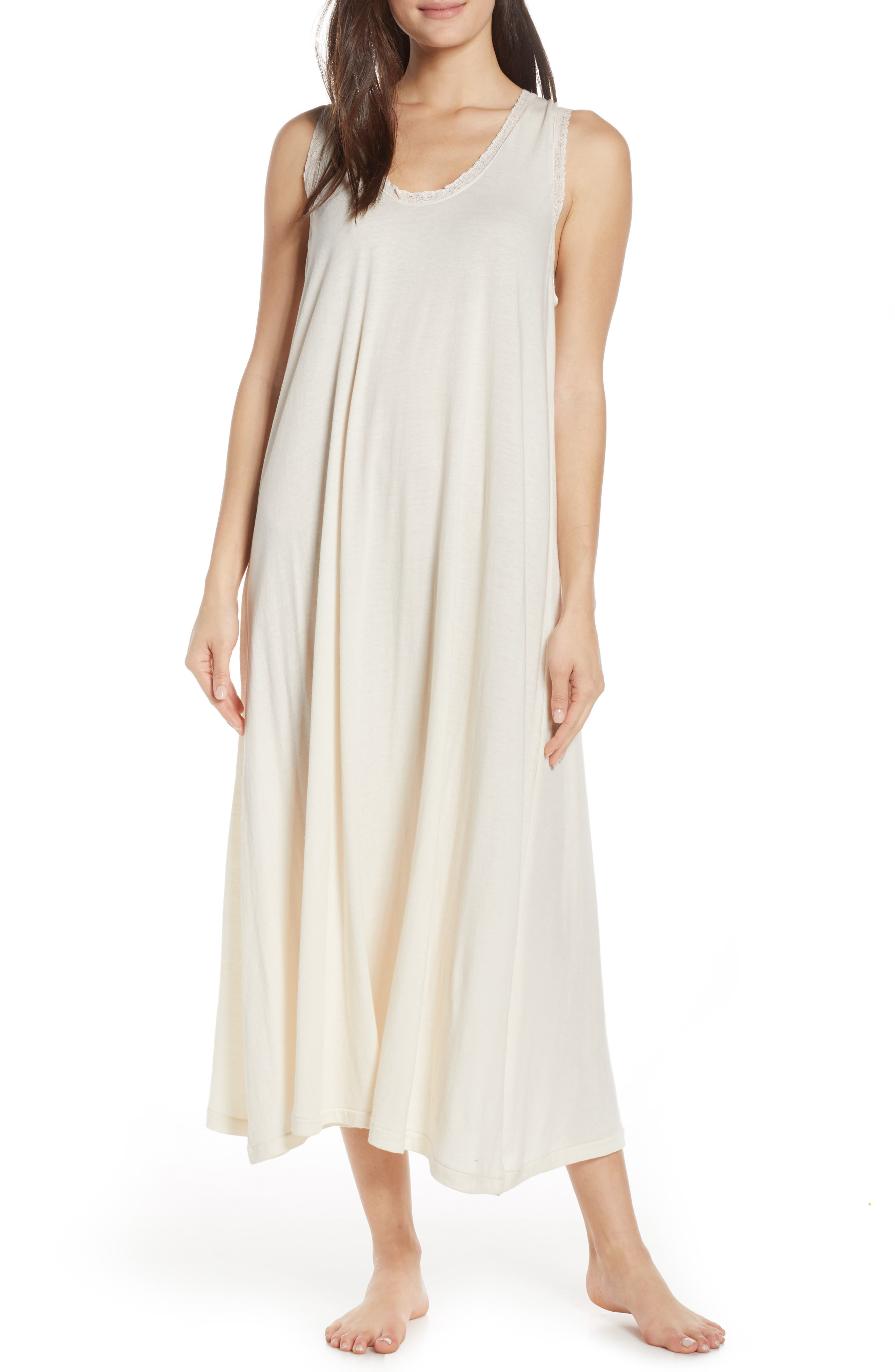 The Great. The Lace Nightgown, White