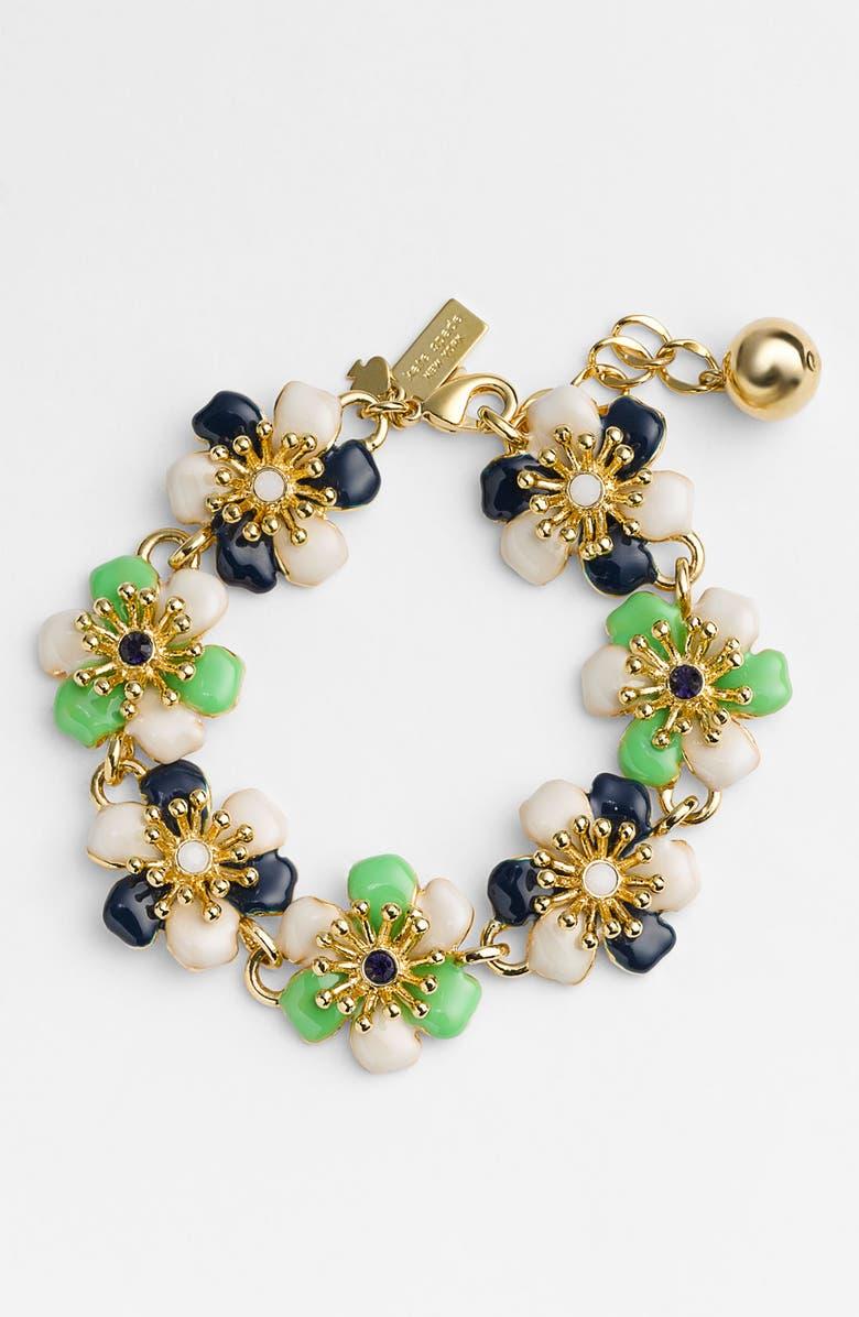 KATE SPADE NEW YORK 'posey park' tennis bracelet, Main, color, 300