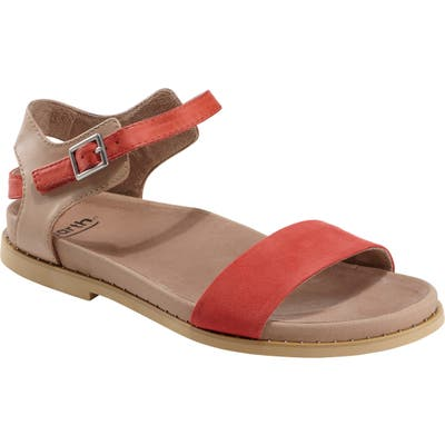 Earth Cameo Sandal- Coral