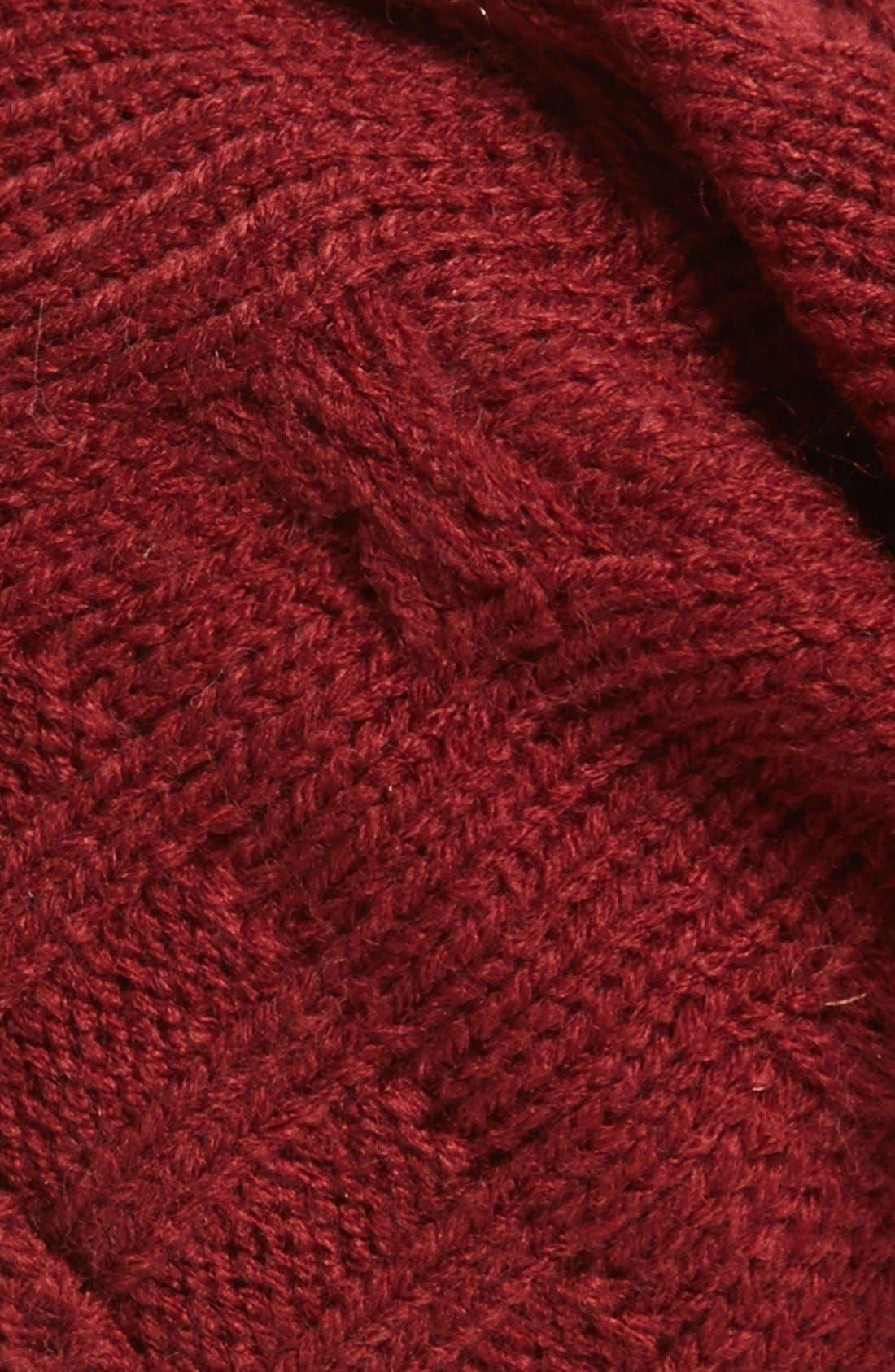 ,                             Braid Knit Beanie,                             Alternate thumbnail 8, color,                             930