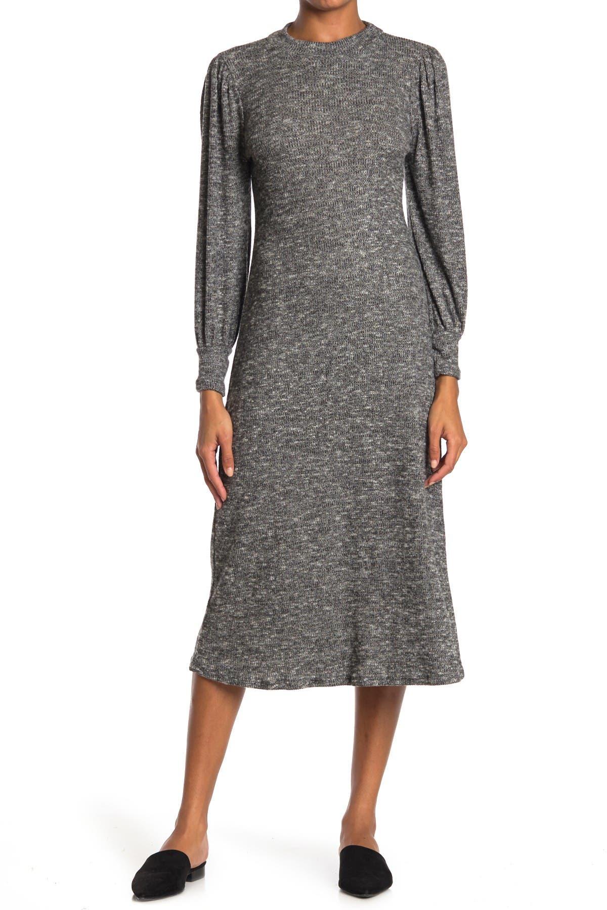 Image of Lush Long Sleeve Sweater Dress