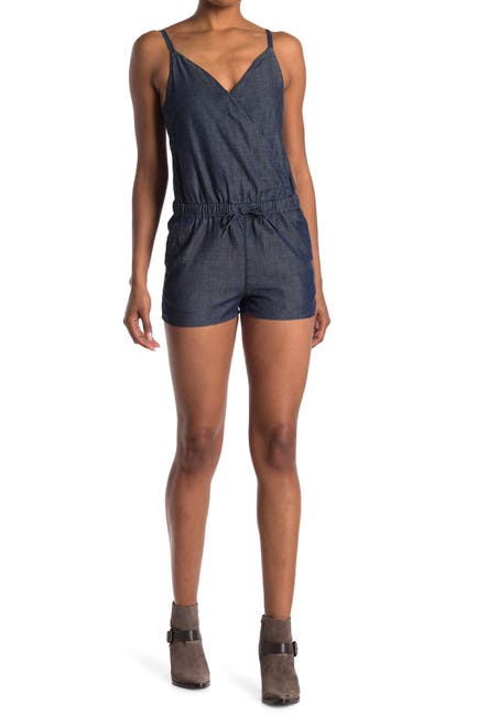 Image of ALLSAINTS Joanna Chambray Romper