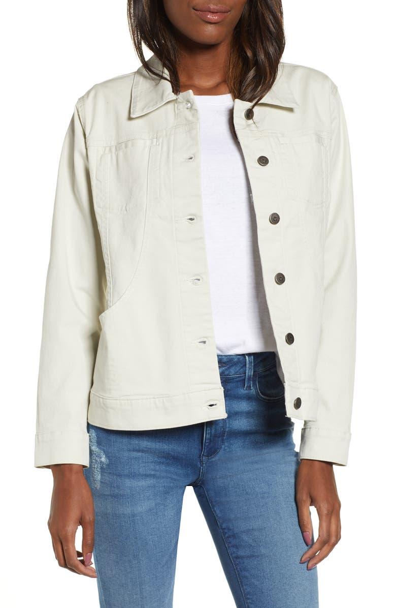 PATAGONIA Stand Up<sup>®</sup> Shirt Jacket, Main, color, DYNO WHITE