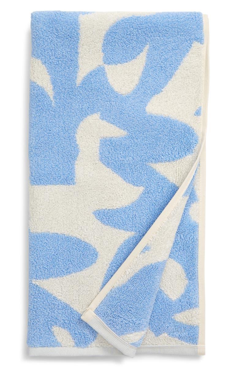 DUSEN DUSEN Hepta Reversible Jacquard Hand Towel, Main, color, 400
