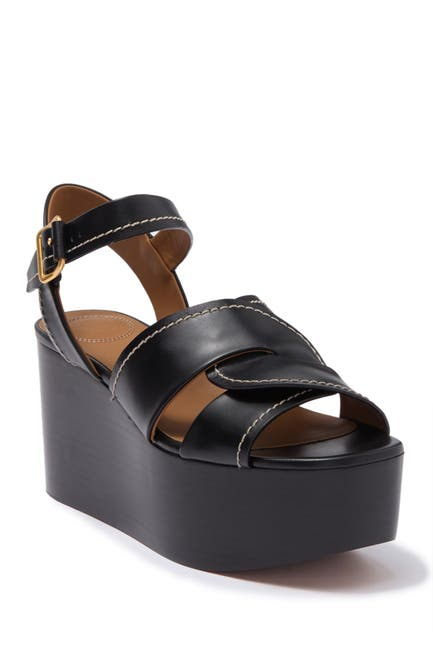 Image of Chloe Candice Platform Wedge Sandal