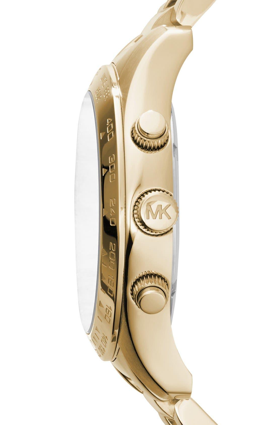 ,                             'Large Layton' Chronograph Watch, 45mm,                             Alternate thumbnail 4, color,                             710