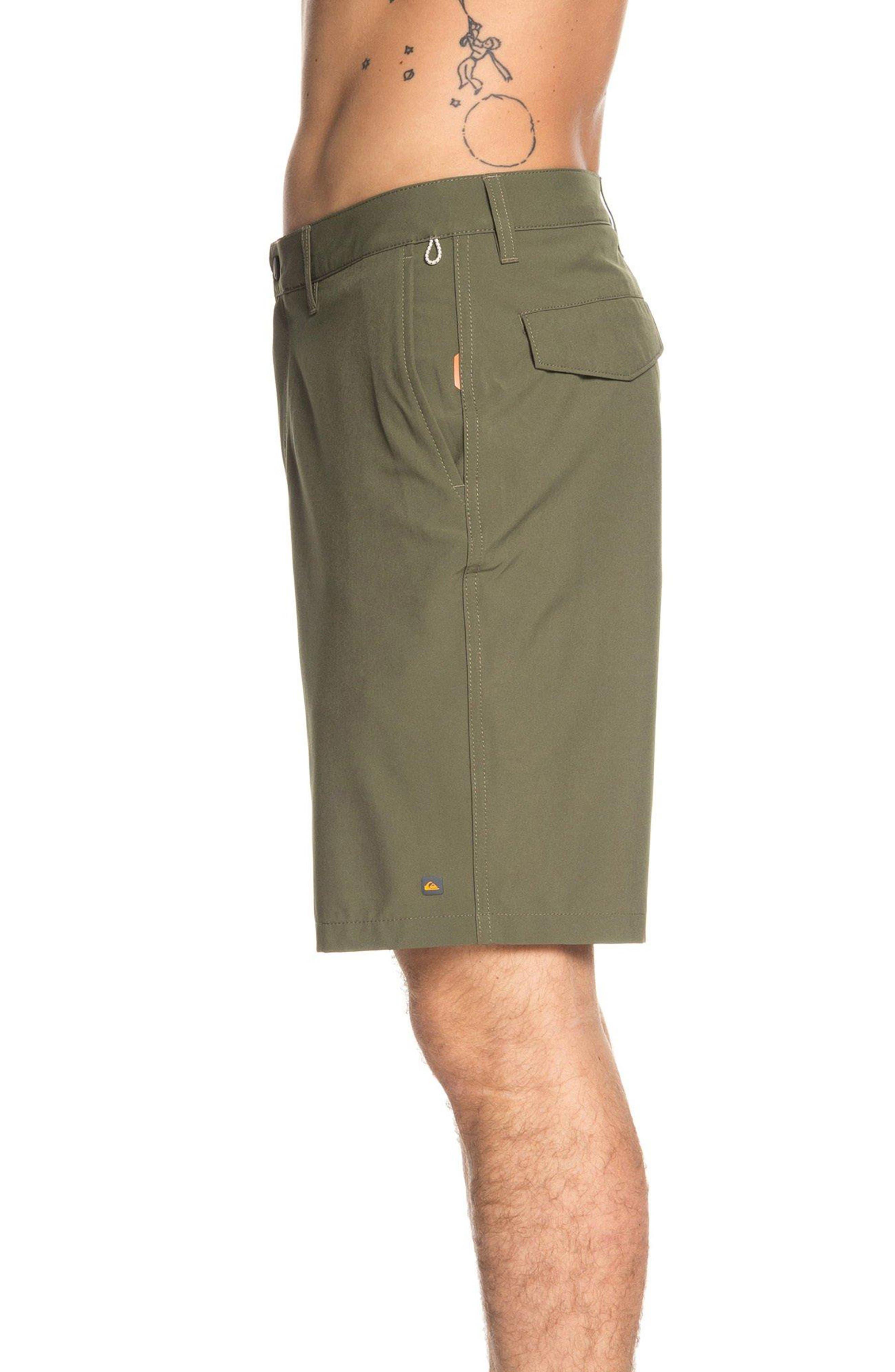 ,                             Backwater Amphibian Hybrid Shorts,                             Alternate thumbnail 3, color,                             IVY GREEN