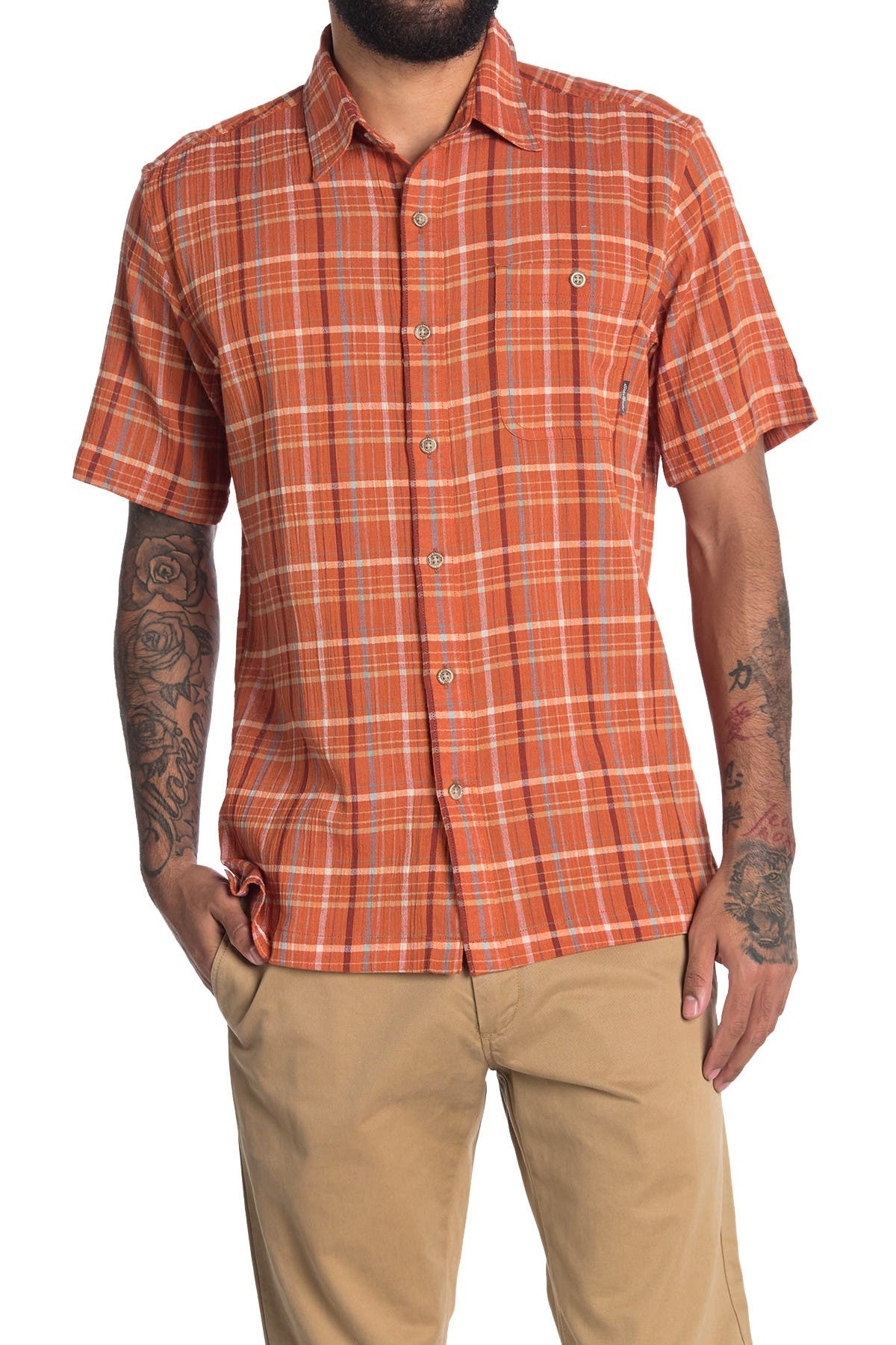 Image of Eddie Bauer Plaid Regular Fit Shirt