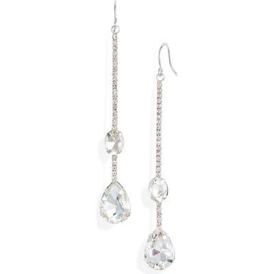 Cristabelle Crystal Stick Drop Earrings