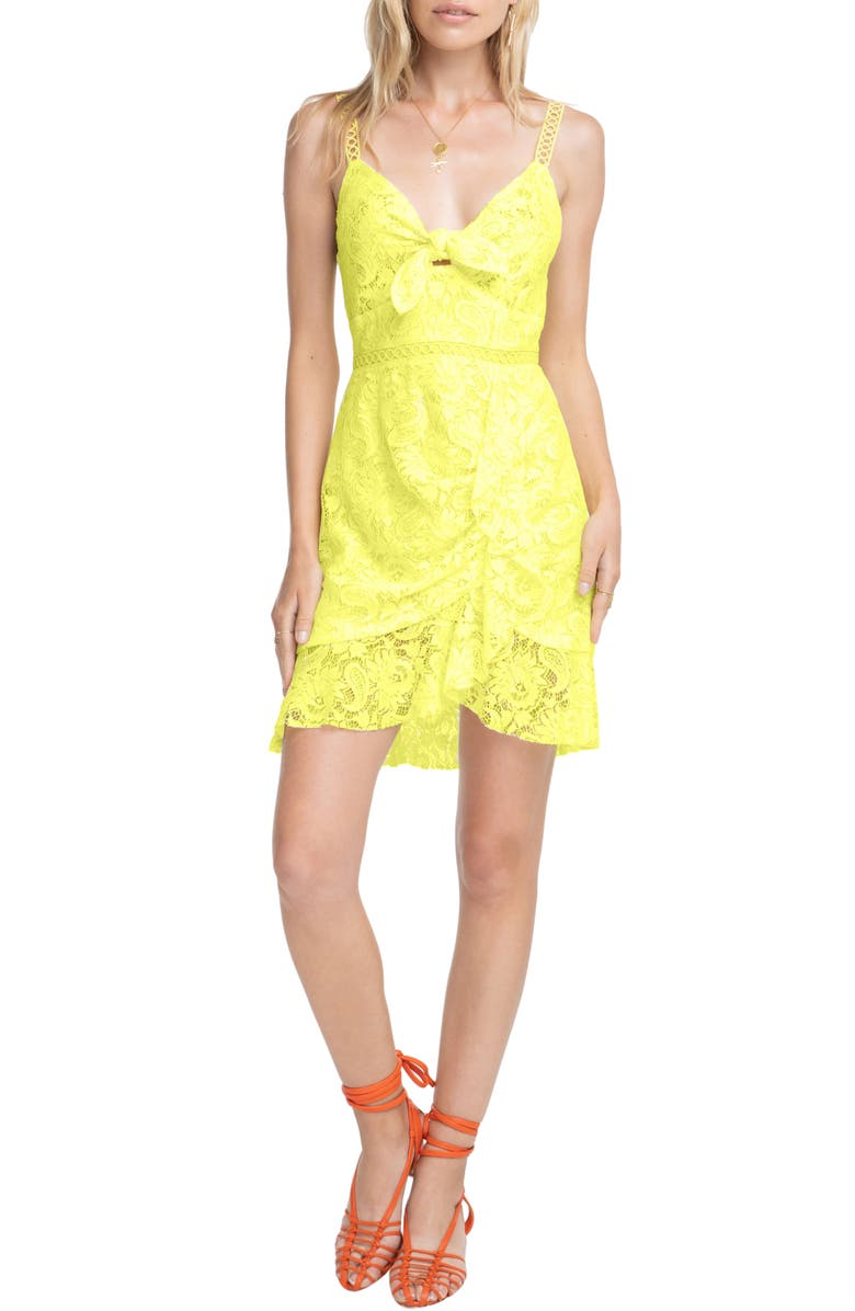 ASTR THE LABEL Joey Lace Slipdress, Main, color, 700