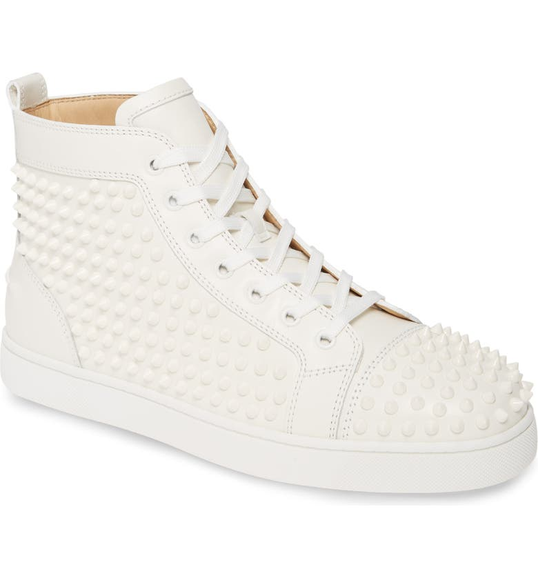 Louis Allover Spikes High Top Sneaker by Christian Louboutin