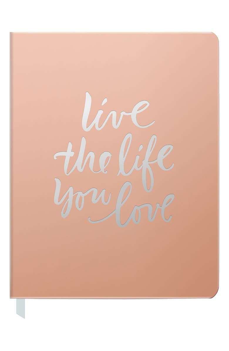 FRINGE STUDIO Live the Life You Love Journal, Main, color, 220