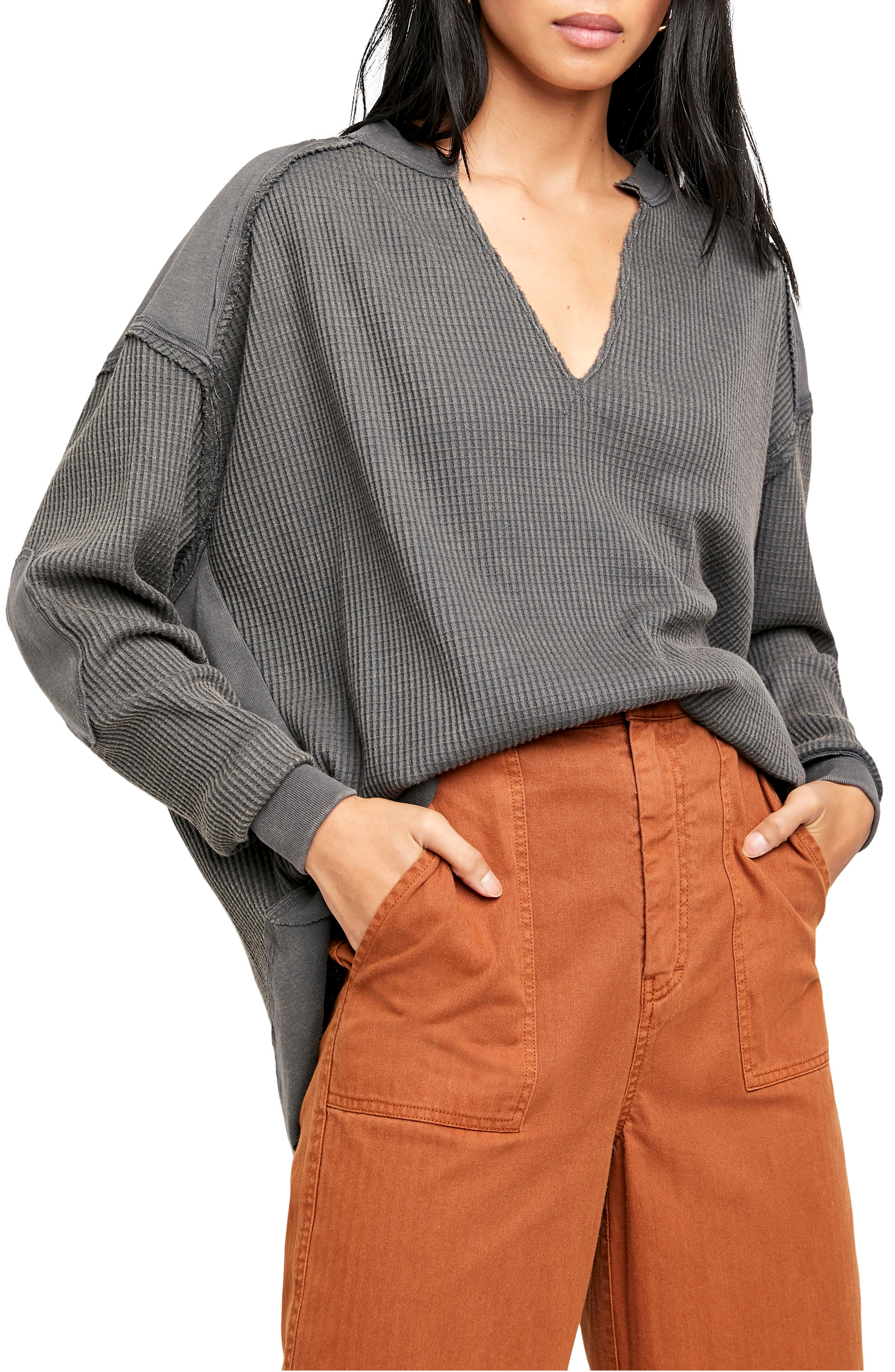 Image of Free People Owen Thermal Pullover