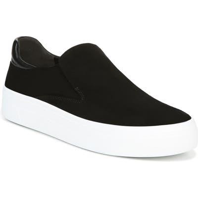 Via Spiga Velina Slip-On Platform Sneaker, Black