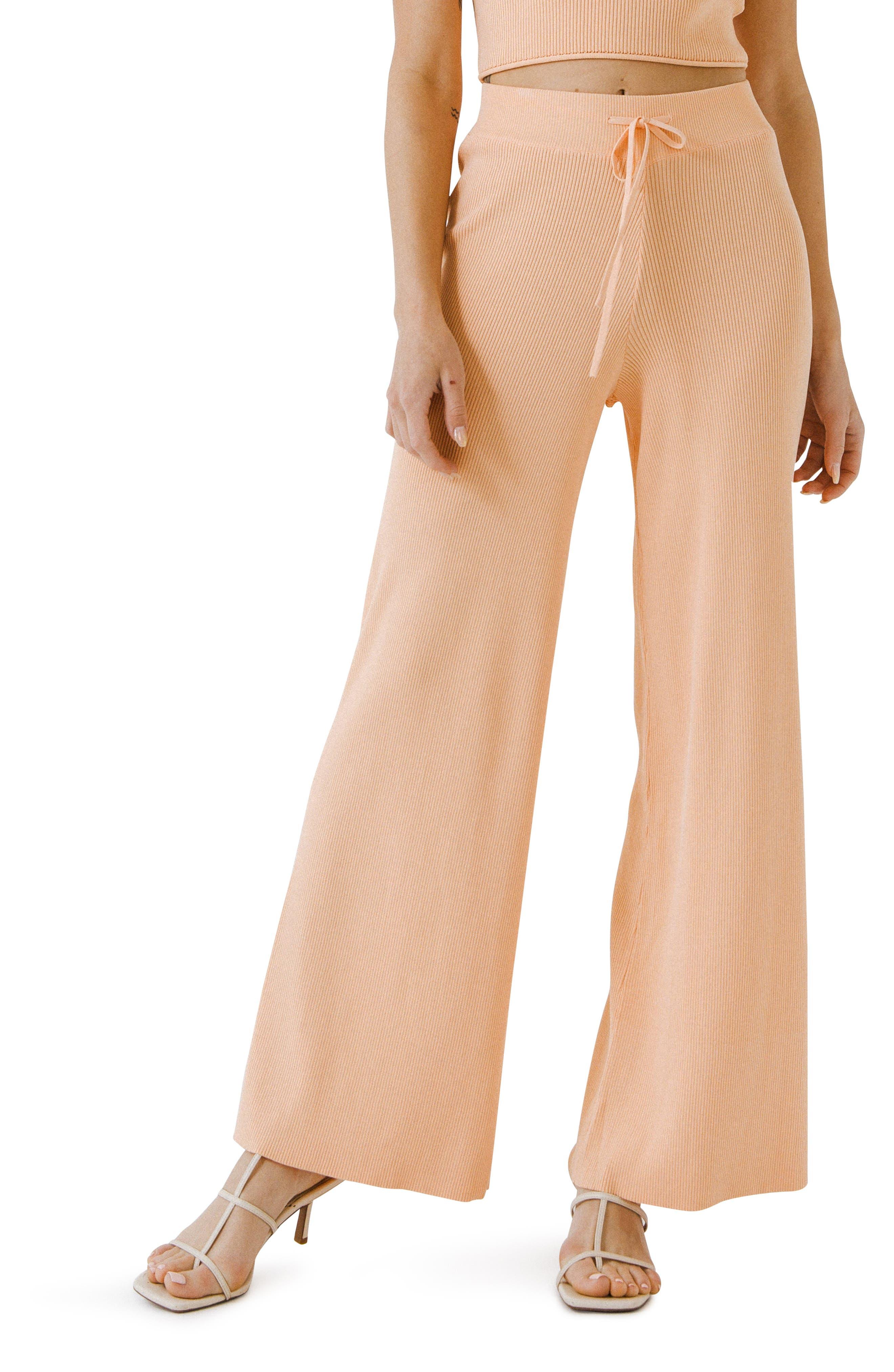 Knit Wide Leg Pants