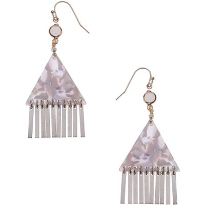 Nakamol Design Triangle Drop Earrings