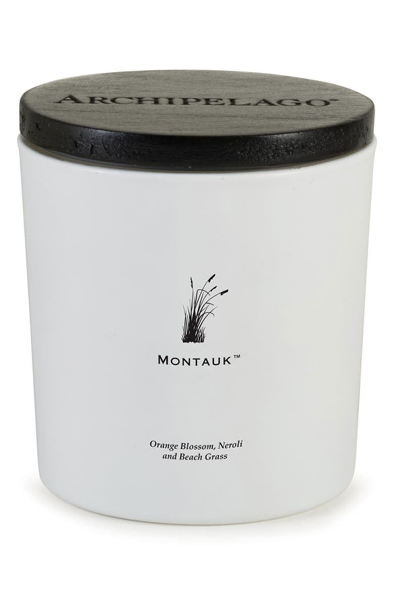 ARCHIPELAGO BOTANICALS Montauk Luxe Candle, Main, color, MONTAUK