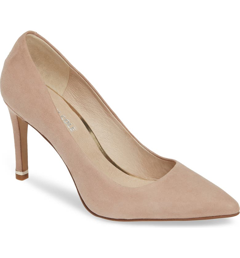 KENNETH COLE NEW YORK Riley 85 Pump, Main, color, DUSTY ROSE SUEDE