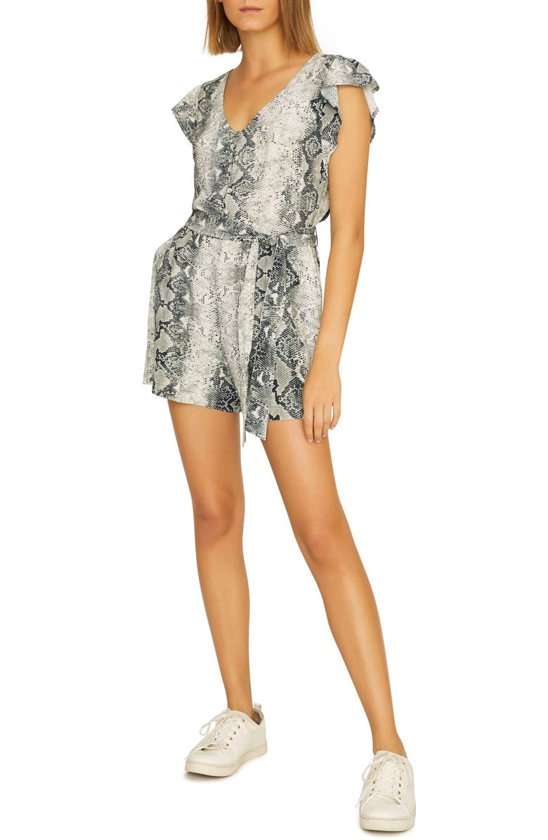 Sanctuary Button Front Romper