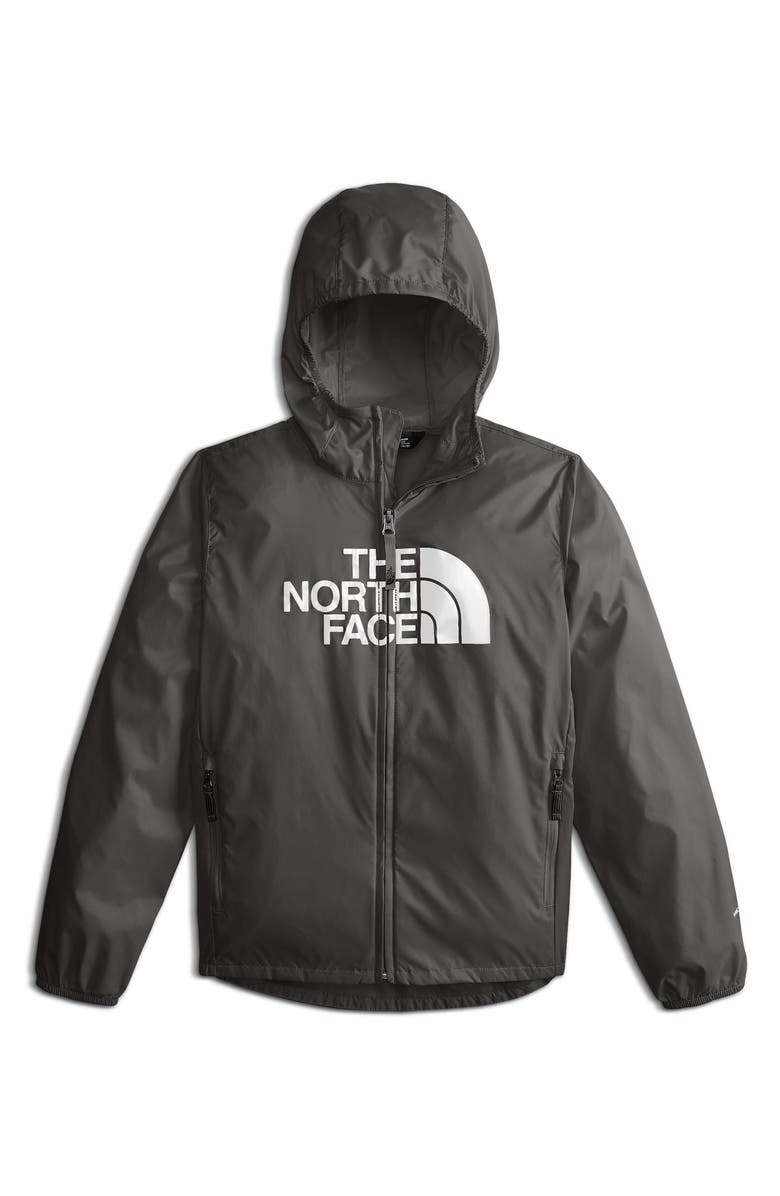 THE NORTH FACE Flurry Hooded Windbreaker Jacket, Main, color, 021