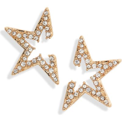 Ettika Star Light Crystal Embellished Stud Earrings