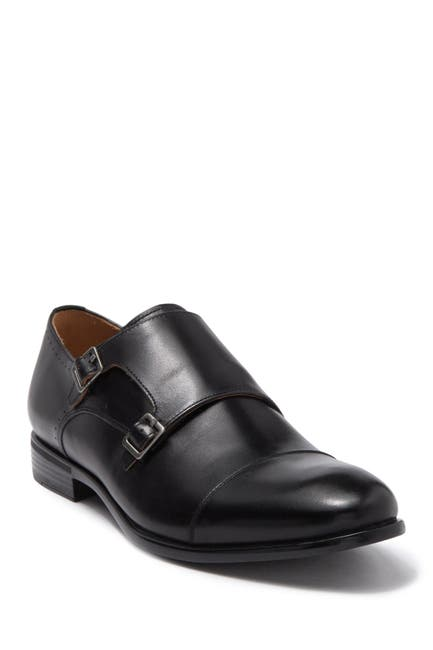 Image of Warfield & Grand Britten Double Monk Strap Dress Shoe