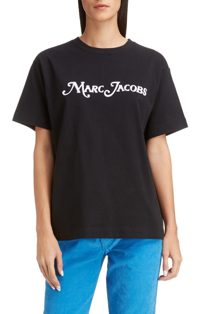 MARC JACOBS x New York<sup>®</sup> Magazine Logo Tee, Main, color, 001