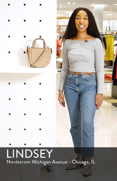 Dwani Faux Leather Crossbody Bag, sales video thumbnail