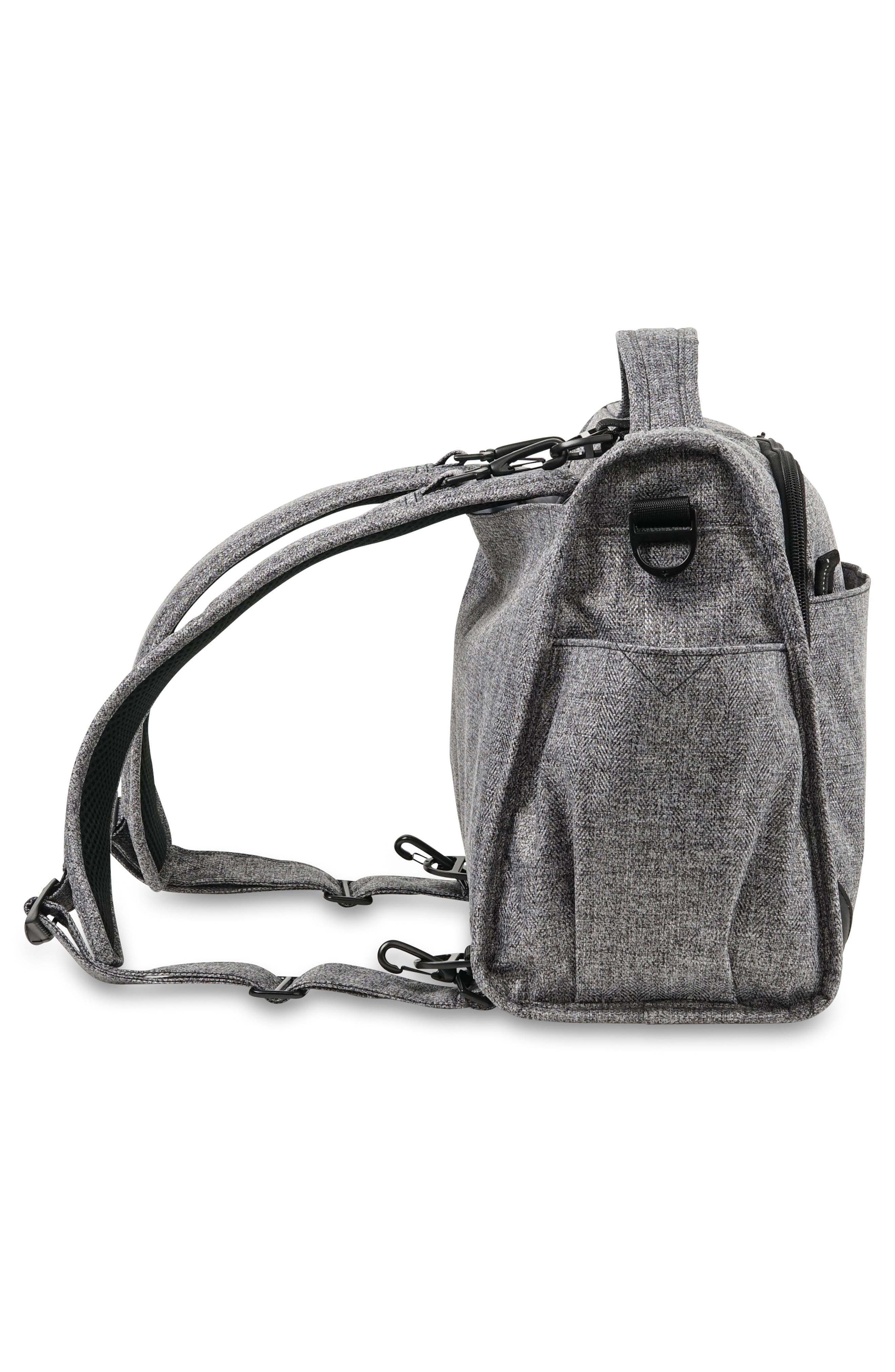 ,                             Classical Convertible Diaper Bag,                             Alternate thumbnail 4, color,                             GRAPHITE
