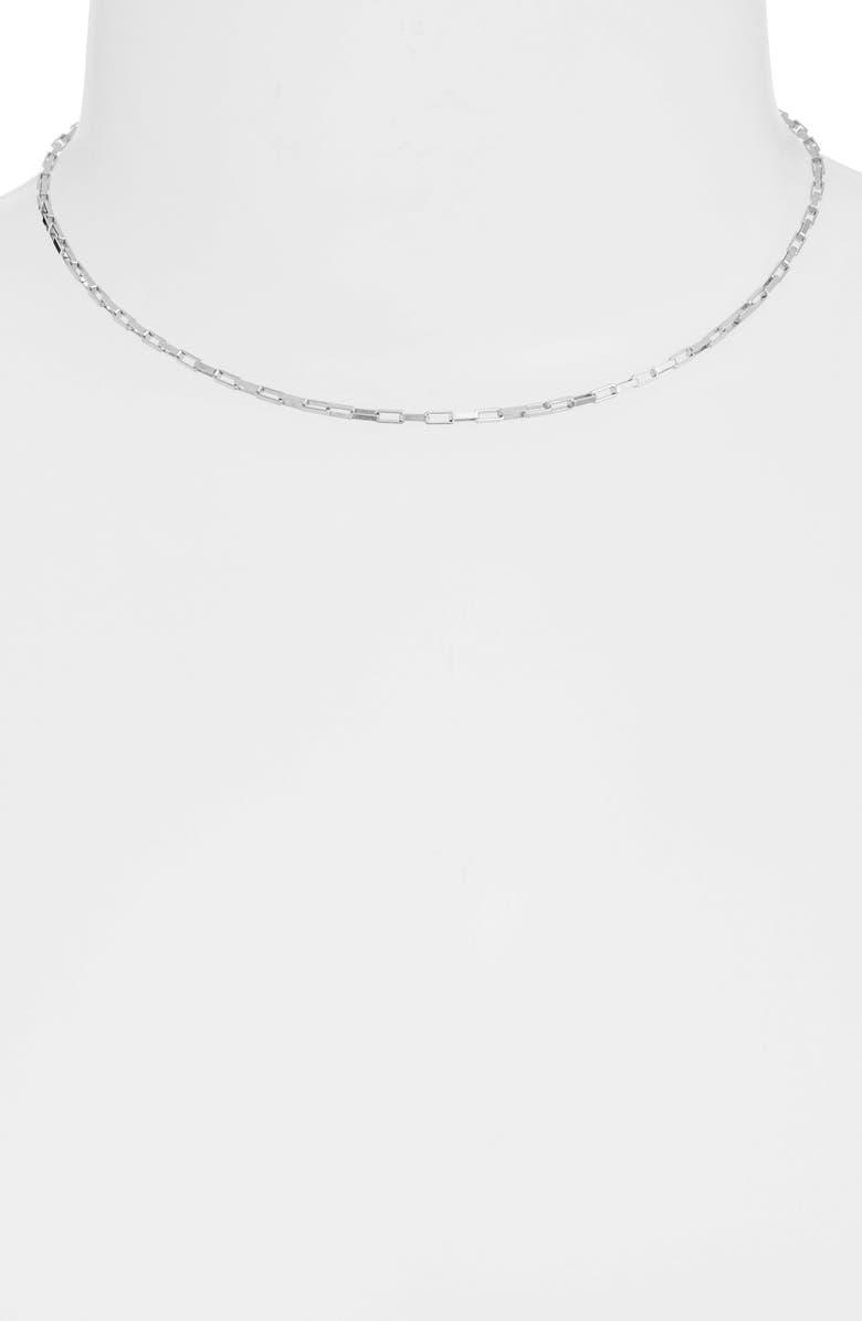 SET & STONES Reese Choker, Main, color, Silver