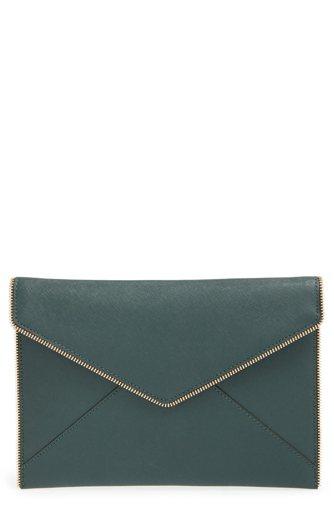 ,                             Leo Envelope Clutch,                             Main thumbnail 150, color,                             300