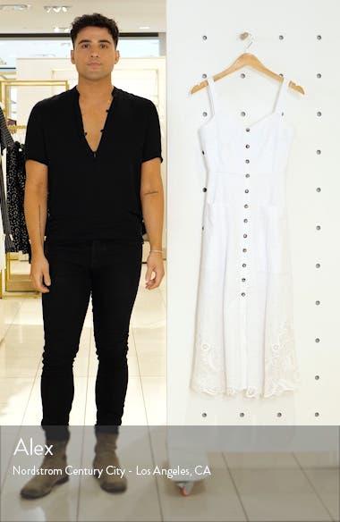 Fara Eyelet Midi Dress, sales video thumbnail