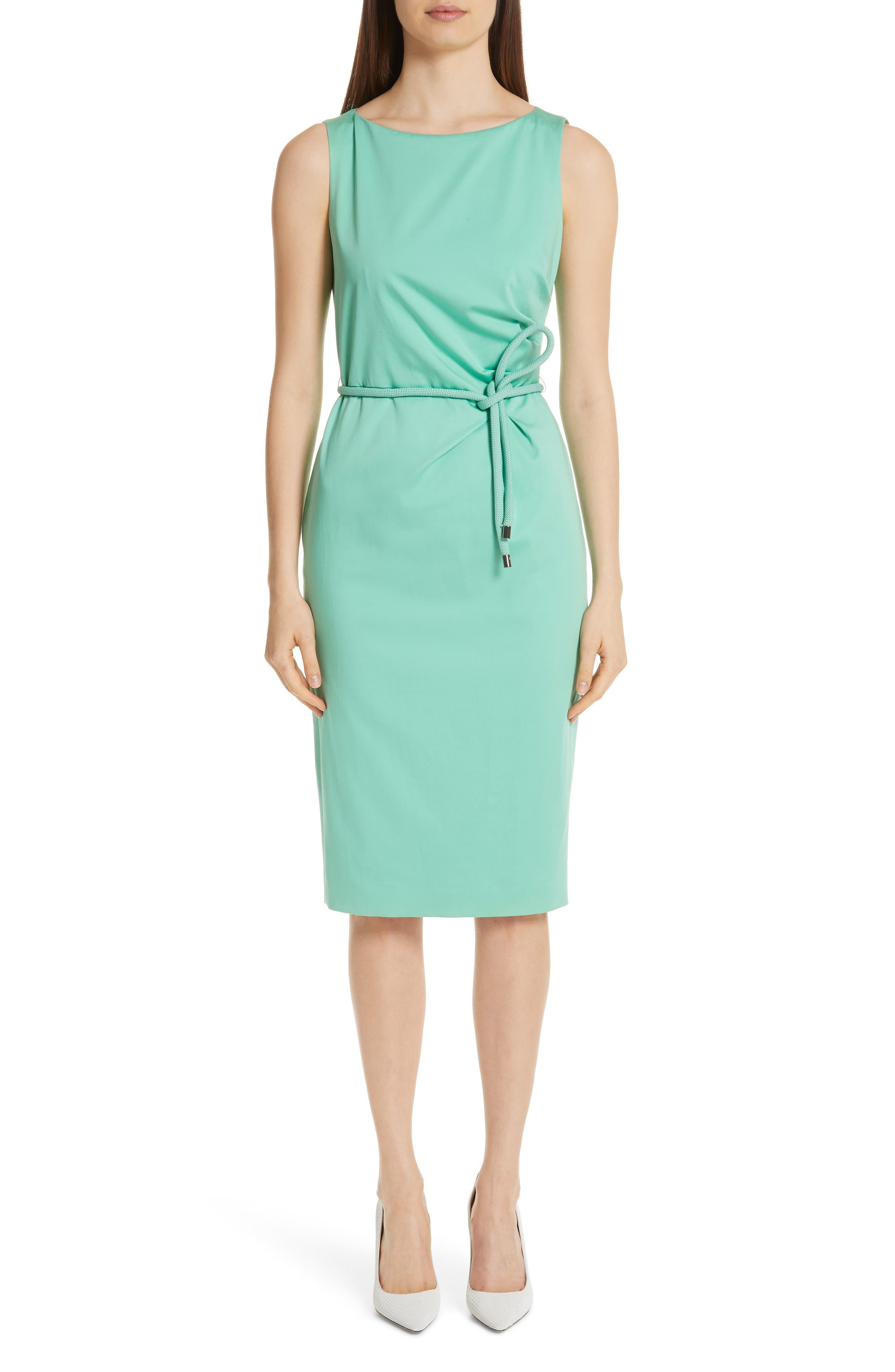 Max Mara Cordoba Sheath Dress, Green