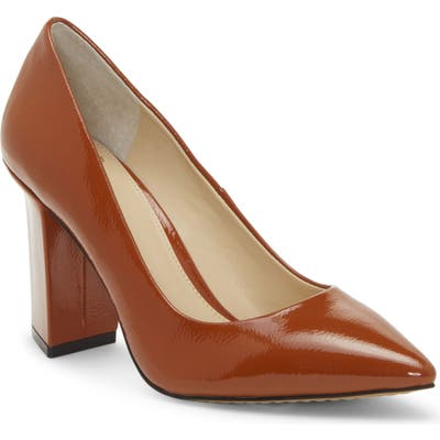 Vince Camuto Candera Pointed Toe Pump, Orange