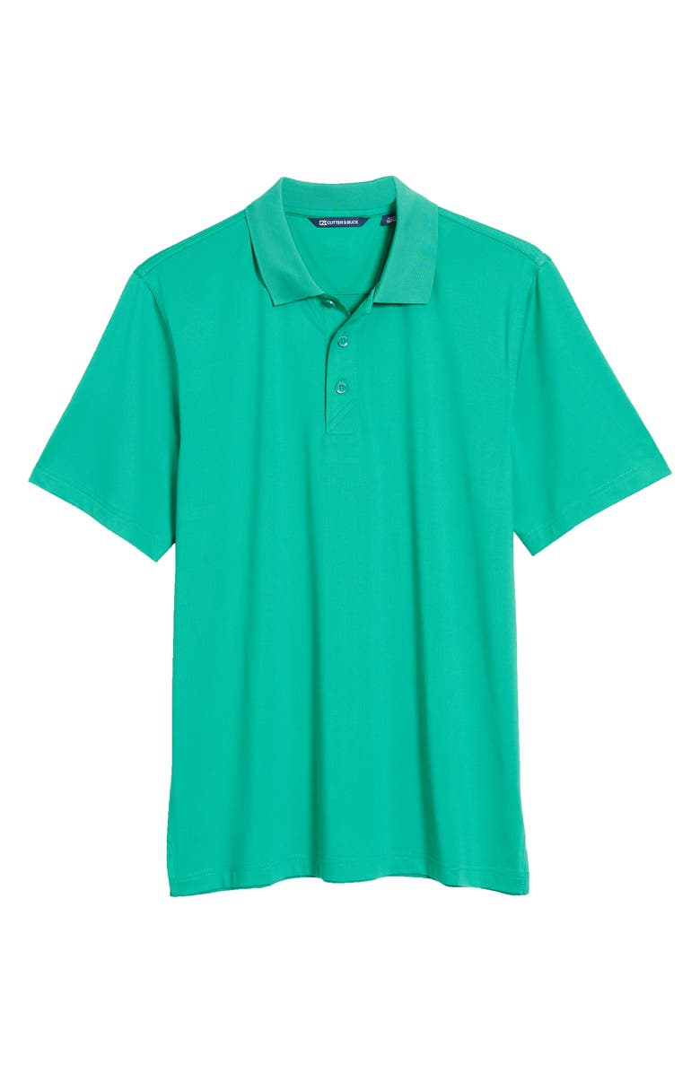 CUTTER & BUCK Forge DryTec Solid Performance Polo, Main, color, KELLY GREEN