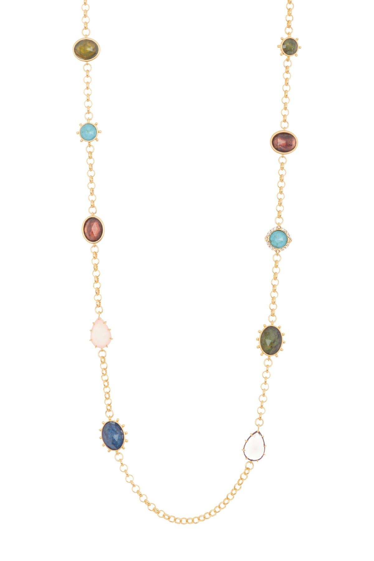 Image of kate spade new york station scatter necklace